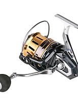 cheap -Fishing Reel Spinning Reel 4.1:1 Gear Ratio+11 Ball Bearings Sea Fishing / Bait Casting / Freshwater Fishing / Trolling & Boat Fishing / Hand Orientation Exchangable