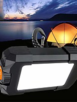 cheap -10w camping tent light outdoor rechargeable portable lantern led lamp 500lm flasher flashlight black