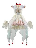 cheap -womens nene yashiro dress toilet bound hanako kun cosplay costume halloween lolita dress goldfish set outfits (x-large, full set)