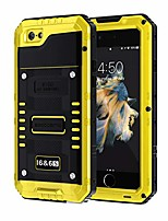 cheap -iphone 6/6s case, military grade ip68 waterproof dustproof shockproof full body sealed underwater case with built-in screen protector heavy duty metal rugged case for iphone 6/6s, yellow