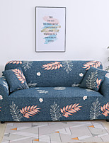 cheap -Leaves Print 1-Piece Sofa Cover Couch Cover Furniture Protector Soft Stretch Slipcover Spandex Jacquard Fabric Super Fit for 1~4 Cushion Couch and L Shape Sofa,Easy to Install(1 Free Cushion Cover)