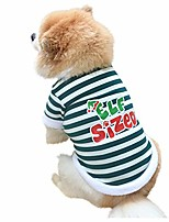 cheap -dog christmas costumes soft comfy christmas puppy cat pullover sweatshirt with cute pattern winter warm plush pet clothes for small medium dogs(xs,green)