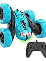 cheap -RC Car 2.4G Buggy (Off-road) / Monster Truck Titanfoot / Stunt Car 15 km/h Rechargeable / Remote Control / RC / Double Sided Rotating