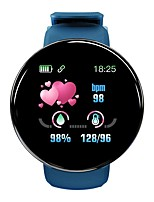 cheap -LITBest D18 Men Women Smartwatch Android iOS Bluetooth Waterproof Heart Rate Monitor Blood Pressure Measurement Sports Calories Burned ECG+PPG Pedometer Call Reminder Sleep Tracker Sedentary Reminder