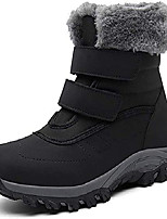 cheap -winter ankle snow boots with warm fur lining waterproof women warm hiking boots anti slip shoes