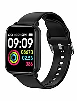 "cheap -smart watch fitness trackers waterproof sport watch with heart rate blood pressure sleep monitor smartwatch compatible with iphone samsung android phones 1.3"" touch screen for women men kids"