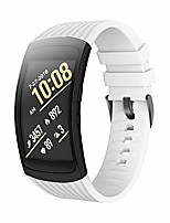 cheap -compatible samsung gear fit2 pro band/gear fit 2 bands, replacement silicone smartwatch bands compatible samsung gear fit2 pro (small, white)