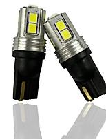 cheap -OTOLAMPARA Pair of Car LED Hand Box Lamp 285 1250 1251 1252 2450 2652 2921 Car Interior Handbar Light T10 W5W 147 Interior Light 152 158 159 5W 6000K White Color Lightness