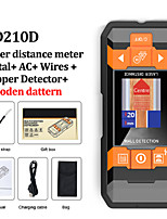 cheap -GD210D Metal Detector Wiring Detector Laser Distance Meter Rangefinder Wall Scanner Wire Cable Metal Stud Wood Finder Digital Tape