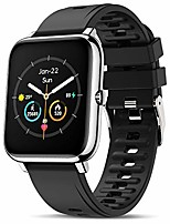 cheap -canmixs smart watch for android iphone compatible waterproof smart watches for women men bluetooth smartwatch with heart rate sleep monitor blood oxygen meter sport fitness tracker digital watches