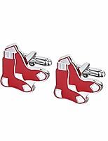 cheap -mens baseball the team logo symbol series cufflinks with gift box