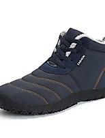 cheap -women's snow boots winter warm fur lined ankle booties lightweight waterproof non slip outdoor shoes(navy,eu39)