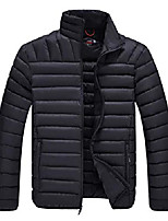 cheap -men's lightweight water-resistant packable down jacket (black,l)