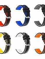 cheap -compatible for samsung galaxy watch 42mm/galaxy watch active/active2 bands - 20mm silicone wristwatch replacement watchband smartwatch strap compatible for galaxy watch 42mm/gear sport