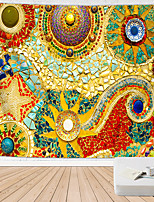 cheap -Mandala Bohemian Wall Tapestry Stones Stained Glass Art Decor Blanket Curtain Hanging Home Bedroom Living Room Dorm Decoration Boho Hippie Indian