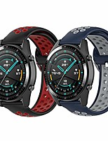 cheap -compatible samsung galaxy watch 46mm band/samsung gear s3 frontier/samsung gear s3 classic watch band, 22mm replacement silicon band for women and men(black/red+blue/gray,22mm)