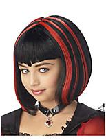 cheap -vampire girl wig costume accessory