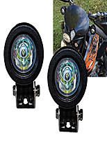 cheap -1 pair mini trail lights led cree spot motorcycle offroad dual sport