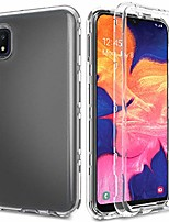 cheap -case for galaxy a10e s102dl, samsung sm-a102u case,three layers full body heavy duty shockproof tpu bumper and pc armor clear hard protective phone cover