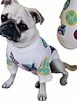 cheap -dog sweaters for small medium dogs bog girl female pets strechy clothes winter cold weather soft warm sweater clothing apparel accessories white