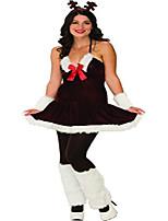 cheap -secret wishes festive reindeer dress, multicolor, medium
