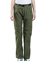 cheap -women's outdoor quick dry convertible lightweight hiking fishing saturday trail zip off cargo work pant army green x-s