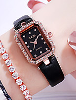 cheap -Women's Quartz Watches Quartz Modern Style Stylish Elegant Casual Watch Analog Black Blushing Pink Green / One Year / Genuine Leather / Japanese