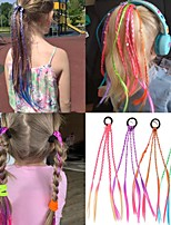 cheap -Women's Girls' Hair Ties For Party Evening Street Prom Birthday Party Tassel Cord Blue Purple Red 1pc