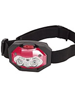 cheap -totes men's led headlamp, red, one size