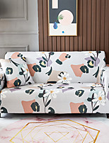 cheap -Floral Print 1-Piece Sofa Cover Couch Cover Furniture Protector Soft Stretch Slipcover Spandex Jacquard Fabric Super Fit for 1~4 Cushion Couch and L Shape Sofa,Easy to Install(1 Free Cushion Cover)