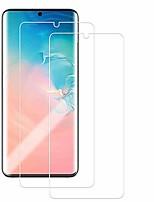 cheap -galaxy note 20 screen protector,[soft hydrogel aqua flex ][hd ultra clear] [case friendly][full screen coverage] anti fingerprint screen cover for samsung galaxy note 20 (2pc)