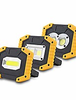 cheap -20w cob work lamp led portable lantern waterproof 3-mode emergency spotlight rechargeable floodlight for camping light no battery bar-type bead