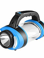 cheap -portable portable flashlight camping lanternwater resistant for outdoor hiking, camping, fishing, emergencies, outagestravel, blue