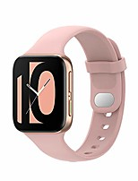 cheap -compatible with oppo watch 41mm & 46mm watch band strap women/man replacement silicone wristbands strap/bands color watch accessories with metal button for oppo watch (pink, 46mm)