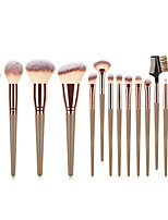 cheap -Professional Makeup Brushes 15pcs Soft Full Coverage Comfy Plastic for Makeup Tools Eyeliner Brush Blush Brush Makeup Brush Lip Brush Eyebrow Brush Eyeshadow Brush