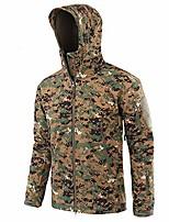 cheap -newdeve men's camouflage raincoat waterproof lightweight breathable jacket outdoor hooded overcoats