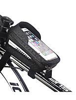 cheap -1 L Bike Frame Bag Top Tube Touch Screen Reflective Cycling Bike Bag EVA Bicycle Bag Cycle Bag