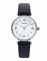 cheap -women watches,ladies fashion analog quartz wristwatches roman numerals geometric polygon dial genuine leather strap waterproof casual watches for woman