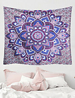 cheap -Mandala Bohemian Wall Tapestry Art Decor Blanket Curtain Picnic Tablecloth Hanging Home Bedroom Living Room Dorm Decoration Boho Hippie Polyester Fiber Mandala Psychedelic Floral Flower Lotus