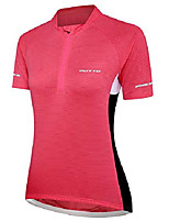 cheap -women's bike jersey shirts cycling clothes reflective riding apparel (x-large, 60012w purple)