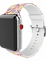 cheap -compatible with apple watch band 38mm 42mm 40mm 44mm soft silicone fadeless pattern printed replacement bands for iwatch series 6,se,5,4,3,2,1