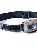 cheap -led headlamp rechargeable long-range ultra-bright outdoor mountaineering fishing waterproof mini headlight head-mounted flashlight multi-color optional (color : gray)
