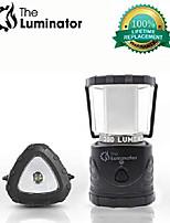 cheap -the luminator camping lantern - led lantern with integrated flashlight, battery powered emergency lamp, waterproof (renewed)