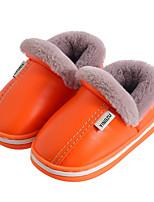 cheap -Boys' Girls' Boots Comfort PU Little Kids(4-7ys) Big Kids(7years +) Walking Shoes Yellow Pink Orange Spring Fall
