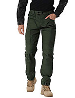 cheap -men's tactical pants waterproof outdoor casual wear cargo pants with multipurpose pockets armygreen