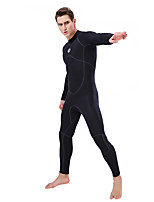 cheap -SLINX Men's Full Wetsuit 3mm Neoprene Diving Suit Thermal Warm Long Sleeve Back Zip - Swimming Diving Surfing Patchwork Spring &  Fall Winter / Stretchy