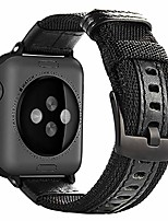 cheap -compatible with apple watch band, 42mm 44mm nylon strap replacement bands with metal clasp compatible with apple iwatch se series 6 5 4 3 2 1 sport & edition, black