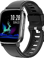 """cheap -smart watch for men women,1.54"""" fitness tracker ip68 waterproof watch with heart rate monitor, calorie counter,pedometer smartwatch compatible for android phones iphone"""