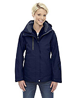 cheap -north end ladies caprice 3-in-1 soft shell jacket, large, classic navy 849