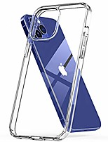 "cheap -wild tiger collection case compatible with new iphone 12 / pro 6.1 model crystal clear anti-scratch slim full body protective shockproof bumper cover [screen protector friendly] (iphone 12 / pro 6.1"")"